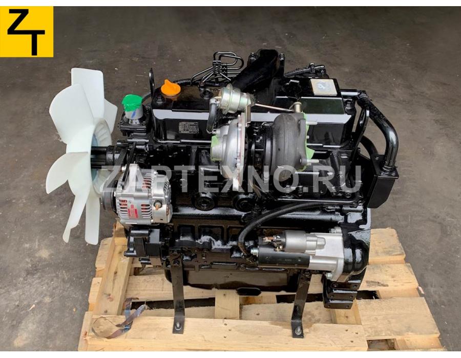 Двигатель Yanmar 4TNV98T